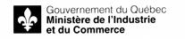 Signature ministérielle du ministère de l'Industrie et du Commerce