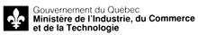 Signature ministérielle du ministère de l'Industrie, du Commerce et de la Technologie