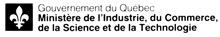 Signature ministérielle du Ministère de l'Industrie, du Commerce , de la Science et de la Technologie (MICST)