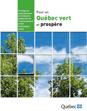Visuel de la Stratégie de développement de l'industrie québécoise de l'environnement et des technologies vertes 2008‑2014