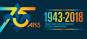Visuel du 75ième anniversaire du ministère de l'Économie et de l'Innovation (MEI)