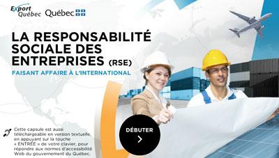 Débuter la formation La responsabilité sociale des entreprises (RSE)