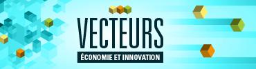 Vecteurs économie et innovation