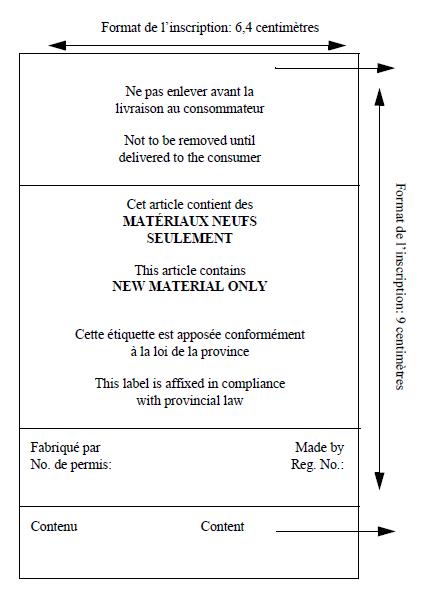 Modèle Étiquette 1A