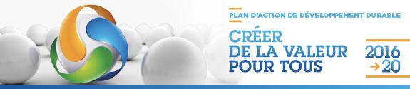 Plan d'action de développement durable 2016-2020