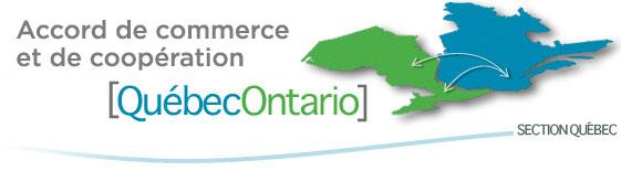 Secrétariat de l'Accord de commerce et de coopération Québec-Ontario - section Québec