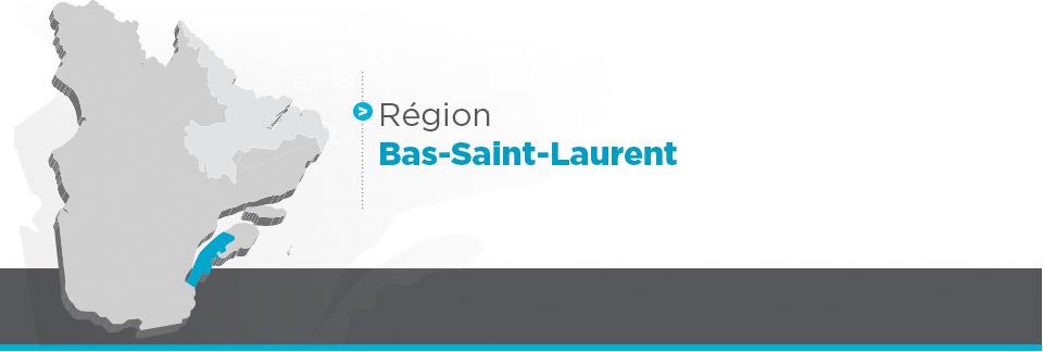 Région Bas-Saint-Laurent