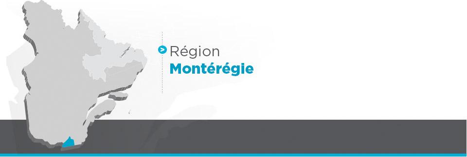 Région Montérégie