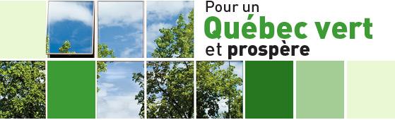 Pour un Québec vert et prospère
