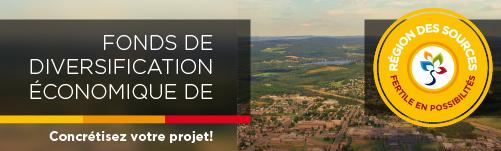 Fonds de diversification économique de la région des Sources. Fertile en possibilités - Concrétisez votre projet