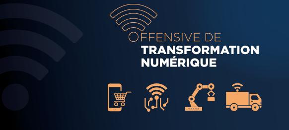 Offensive de transformation numérique