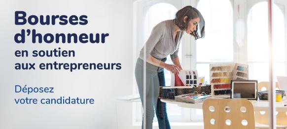 PAGE - Bourses d'honneur en soutien aux entrepreneurs : Déposez votre candidature